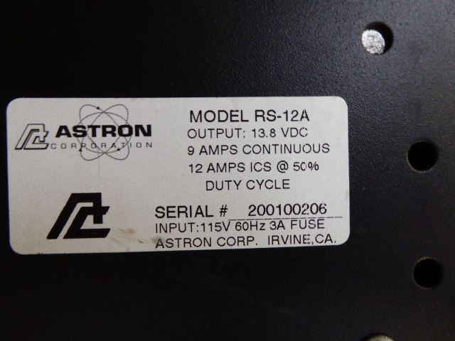 Astron Model RS 12A