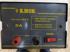 E.MON. Stabilized DC Power Supply - 1