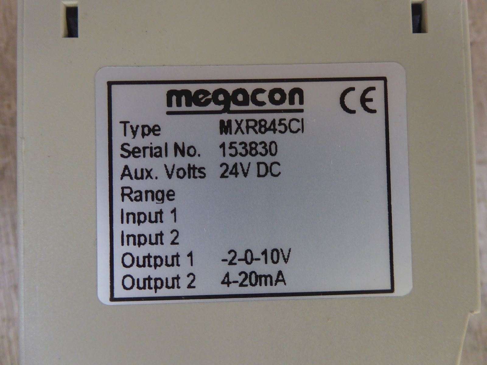 Megacon MXR845Cl