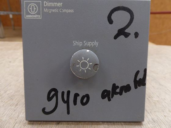 Anschütz Dimmer Magnetic Compass (Ship supply)