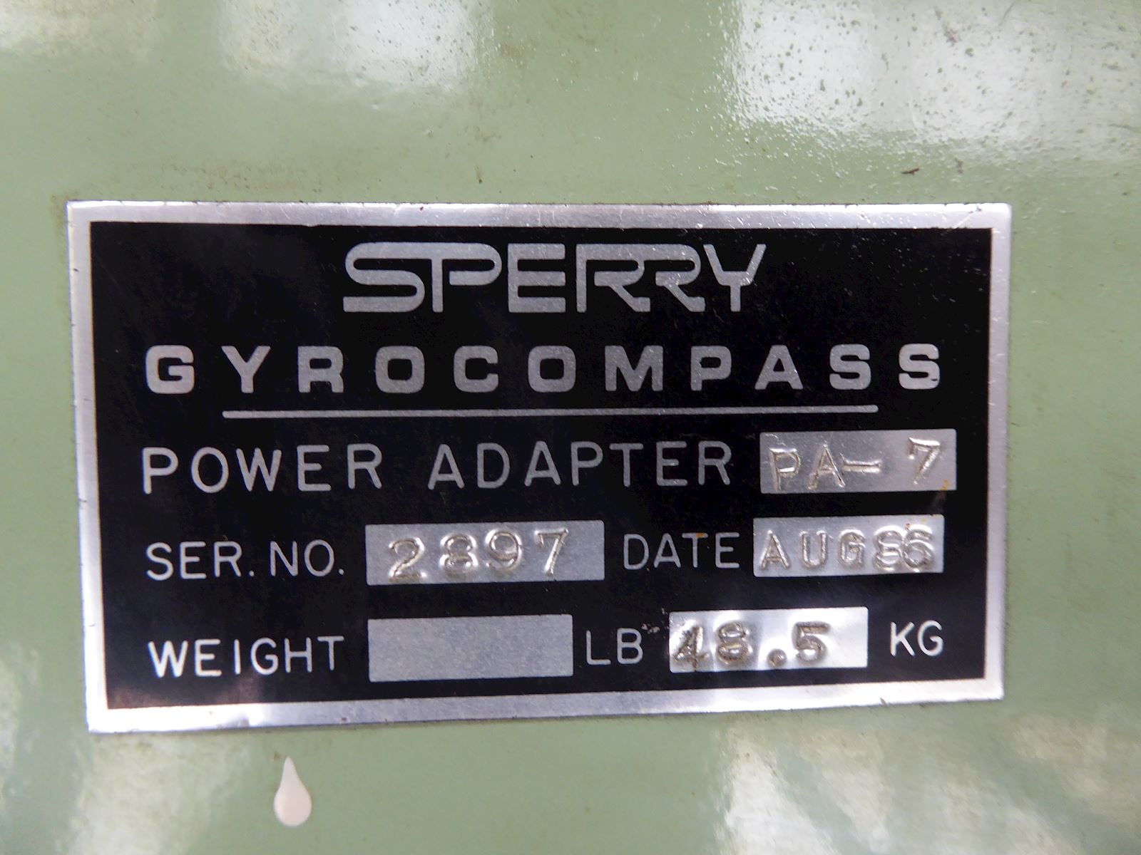 Sperry Marine Power Adapter PA-7