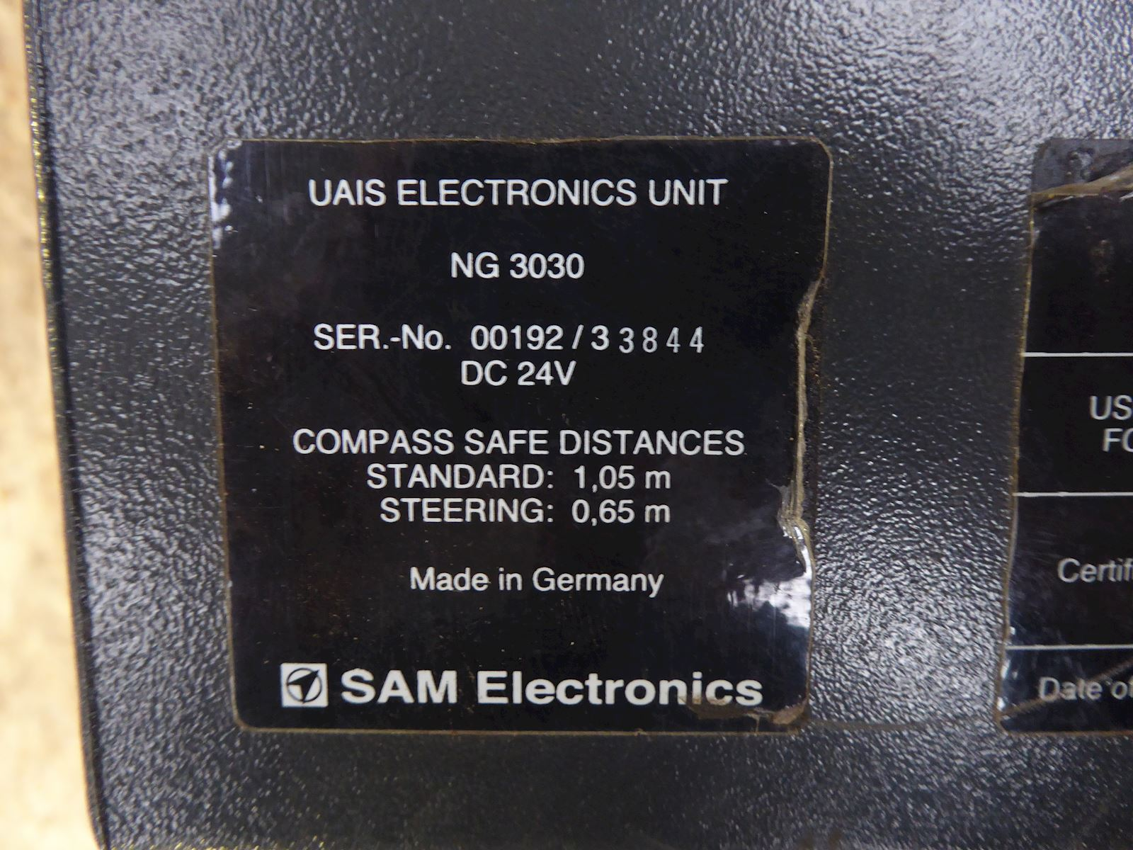 Sailor UAIS 1900 Transponder