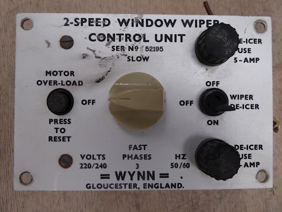 Wynn 2-Speed control Unit