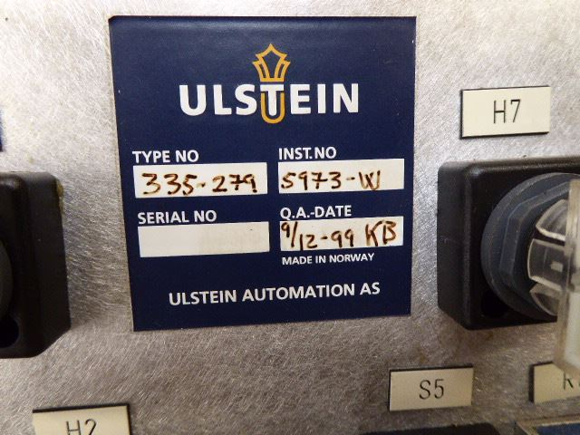 Ulstein Control panel