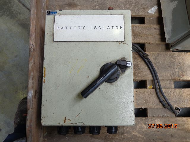 N/A batteri isolator