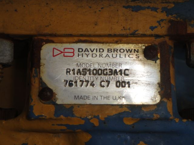 David brown RIA5100G3AIC