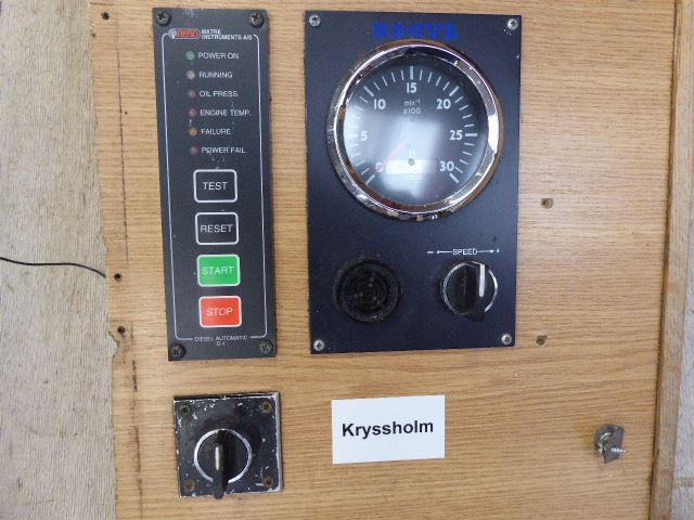 Nogva Engine Control Panel