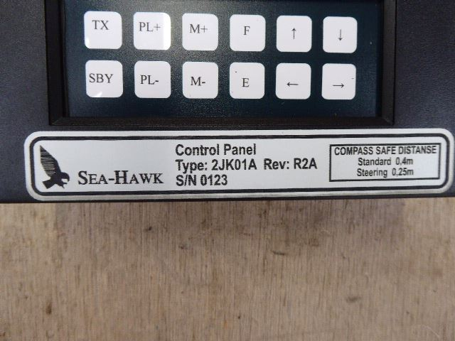 Sea Hawk Control Panel 2JK01A