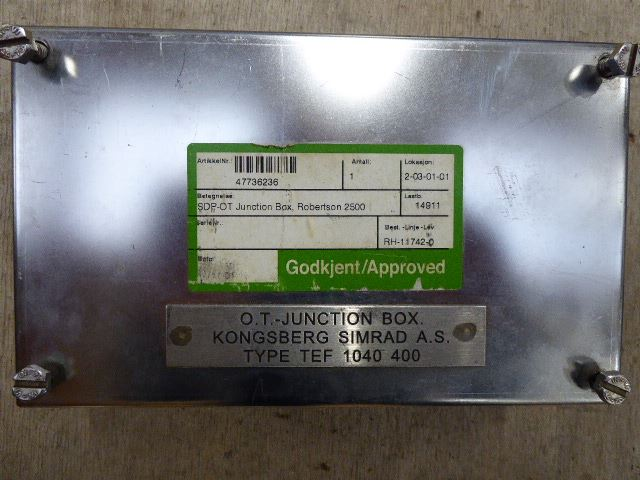 Simrad SDP-OT Junction Box Robertson 2500