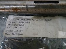 Ulstein bergen Shaft gear drive for Governor Actuator - 1