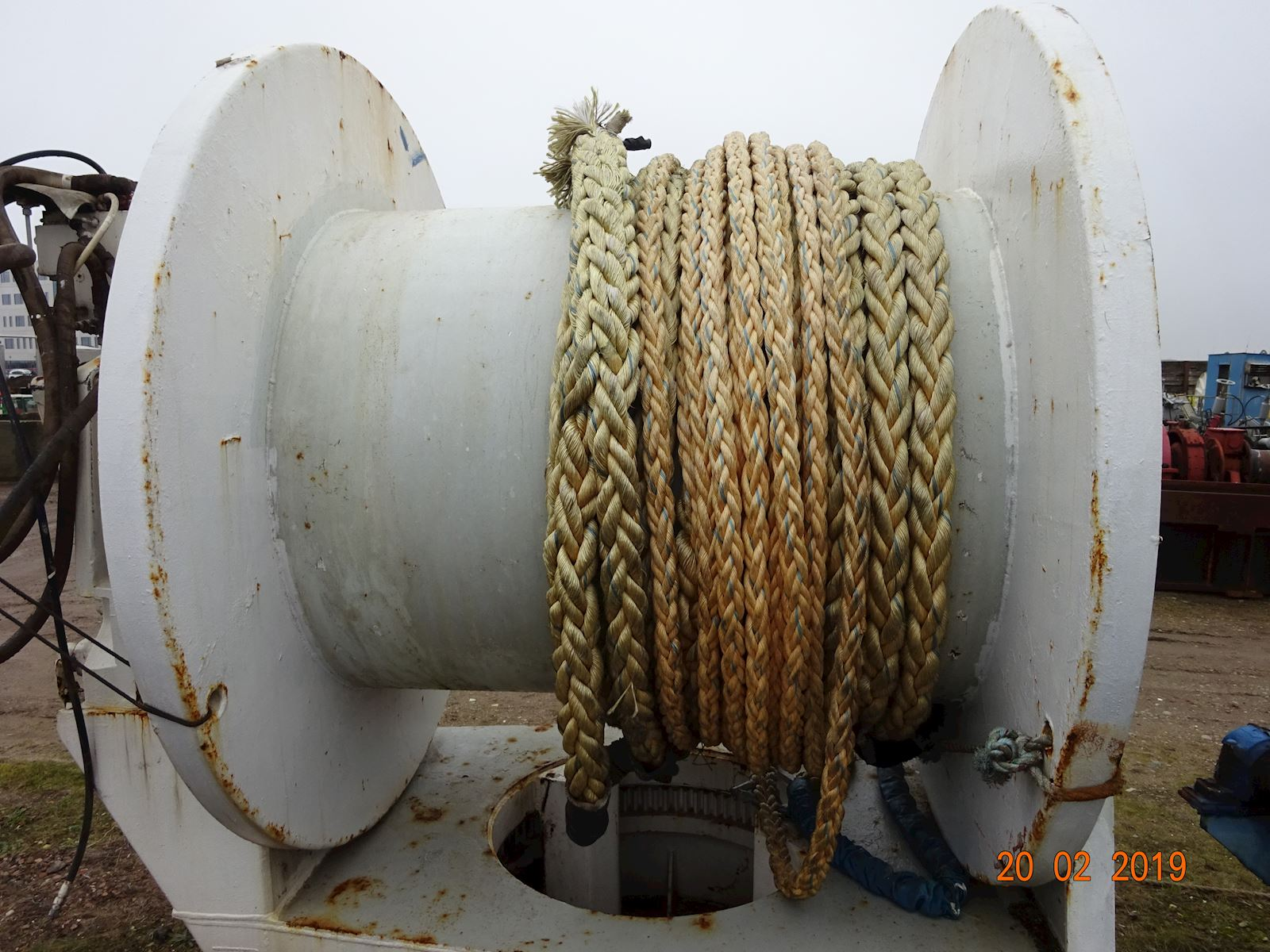 Odim Seismic Towing Winch