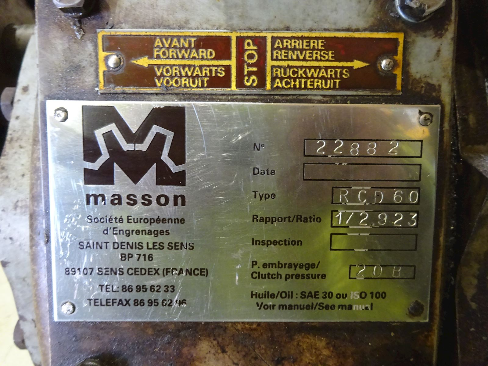 Masson RCD 60