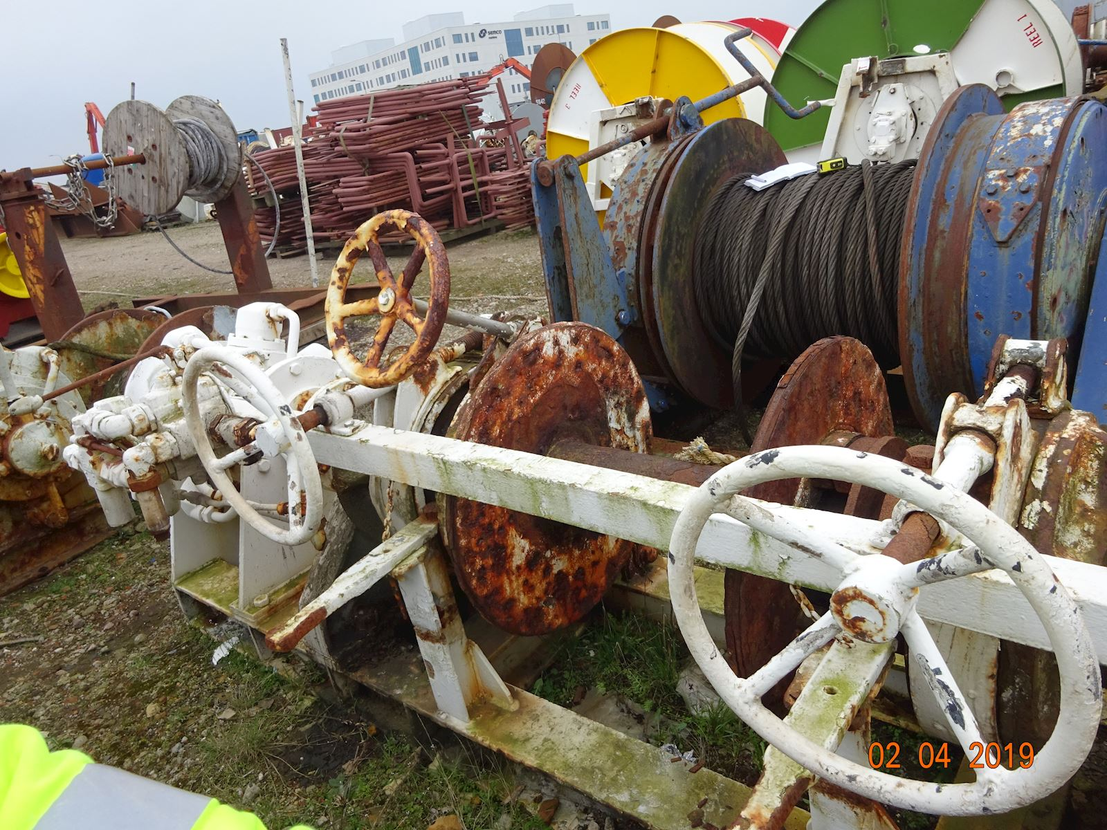Karm Anchor Mooring winch