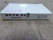 OPTO 22 AD7 -  Voltage Input Module, 0 to +10 VDC - 1