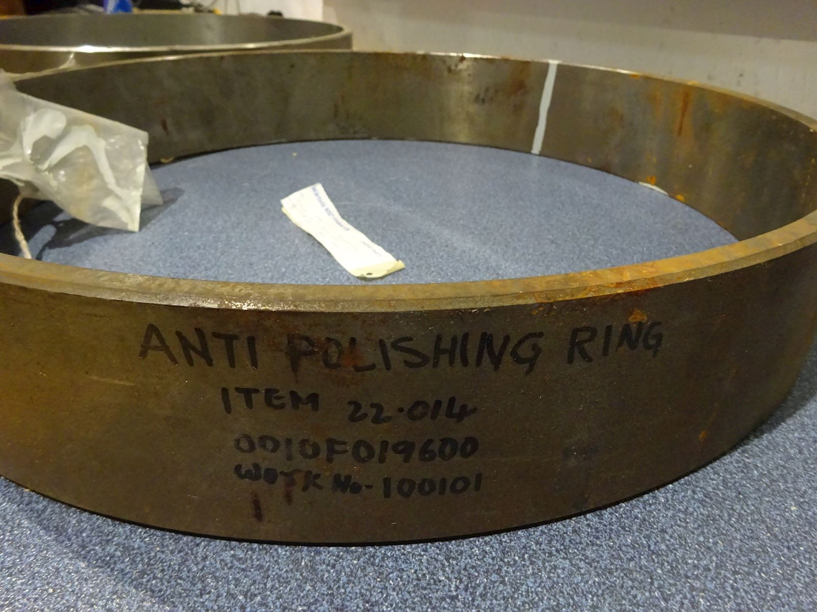 Wärtsila Antipolishing ring 100101