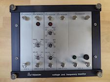 Autronica AK-31/1 Voltage and frequency Monitor - 1