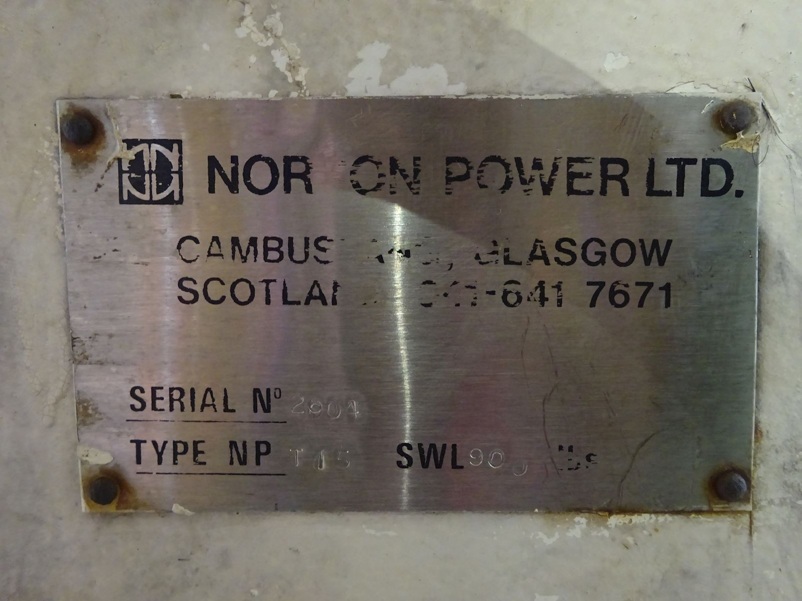 Norson Power LTD. T15
