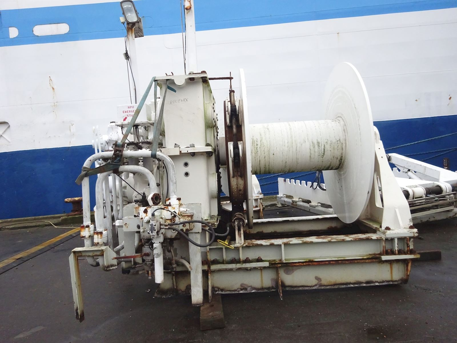 Karm Winch Seismic Towing